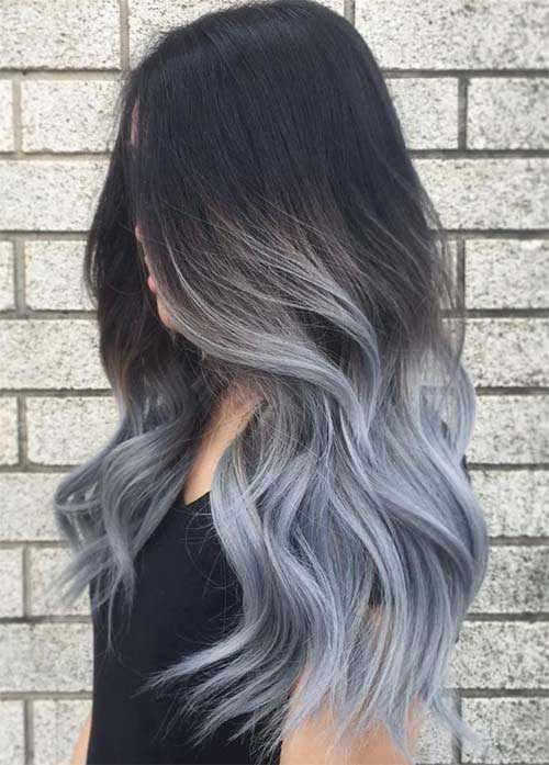 Ombre Colored Hairstyles