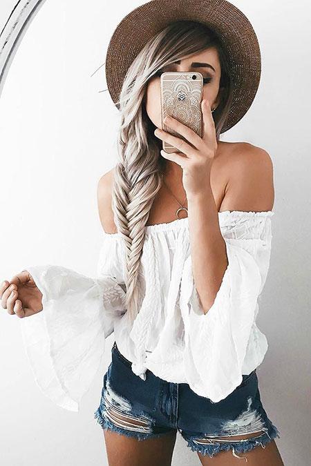 Simple Hairtyle for Long Hair, Hair Hairtyles Long Simple