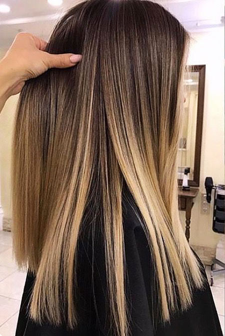 Hair Ombre Blonde Balayage