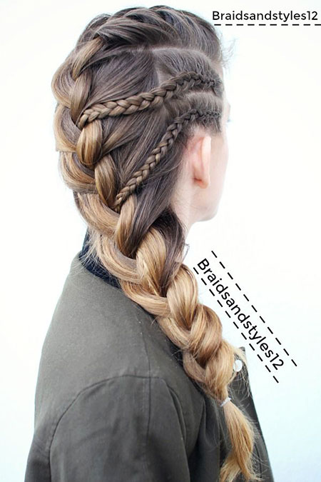 Braid Hair French Braids