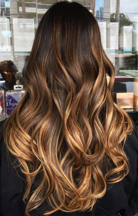Balayage Hair Brown Color