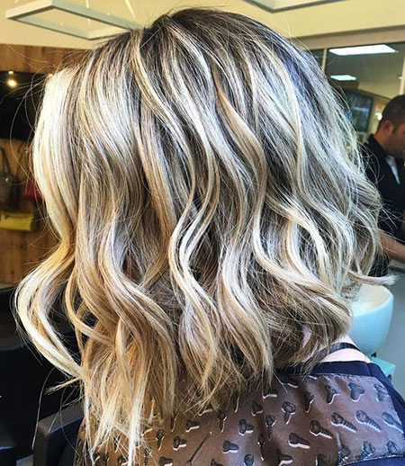Blonde Hair Thick Balayage