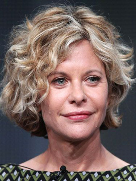 Curly Meg Ryan Wavy