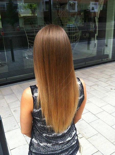 Ombre Hair Straight Balayage