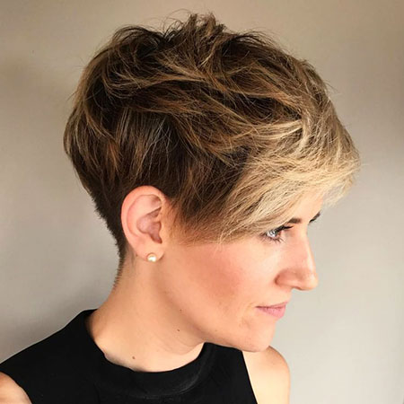 Pixie Messy Choppy Tapered
