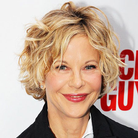 Hair Short Meg Ryan