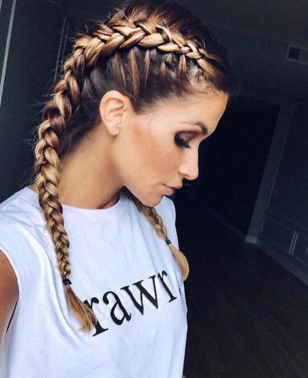 Hairtyles Hair Braided Braids
