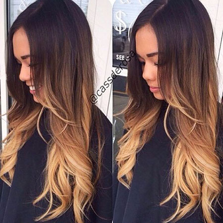 Hair Ombre Balayage Blonde