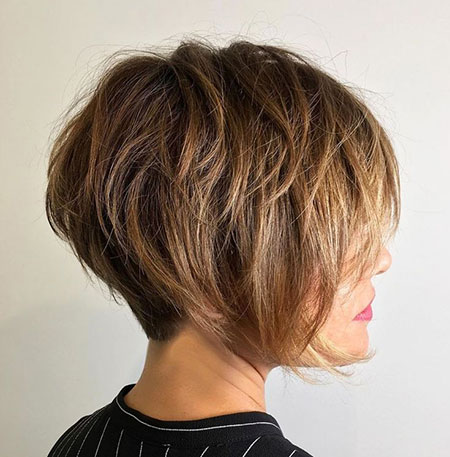 Layered Pixie Bob Layers