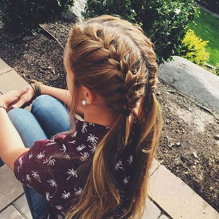 French Braids Hair Braid