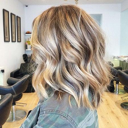 Balayage Blonde Hair Brown