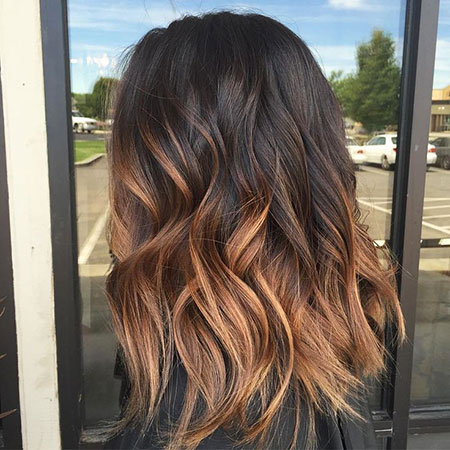 Ombre Brown Caramel Hair