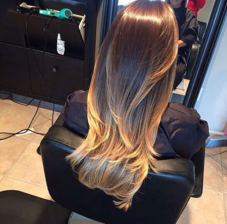 Hair Ombre Color Balayage