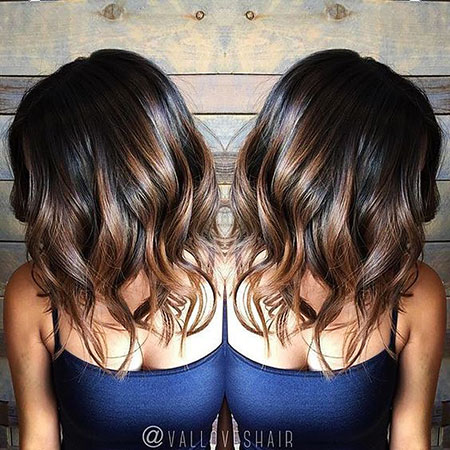 Balayage Brown Hair Color
