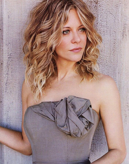 Hair Meg Ryan Curly