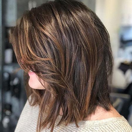 Medium Length Haircuts Lob
