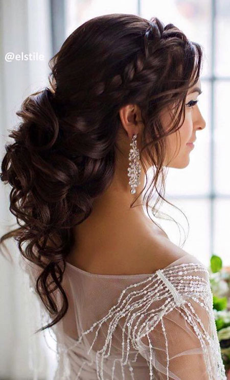 Half Up Half Down Wedding, Wedding Hair Hairtyles Ideas