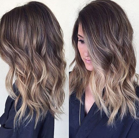Balayage Color, Hair Balayage Medium Length