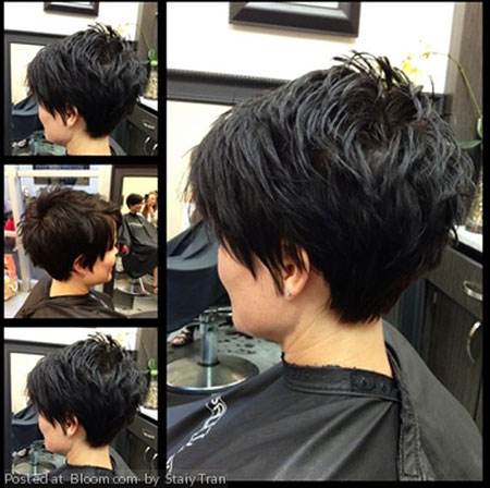 Very Short A Line Hair, Pixie Hair Short Line