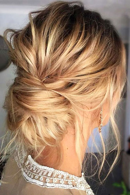 Hair Hairtyles Thin Updo
