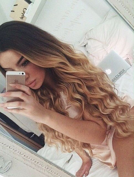 Hair Ombre Hairtyles Long