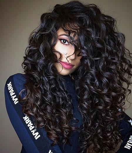 Hair Curly Curls Wavy
