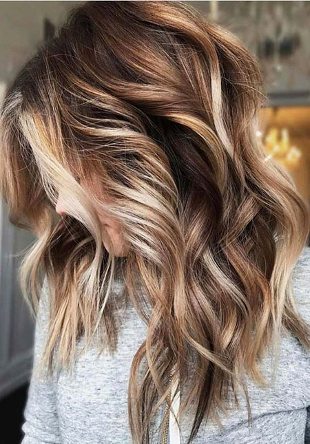 Hair Balayage Color Brown