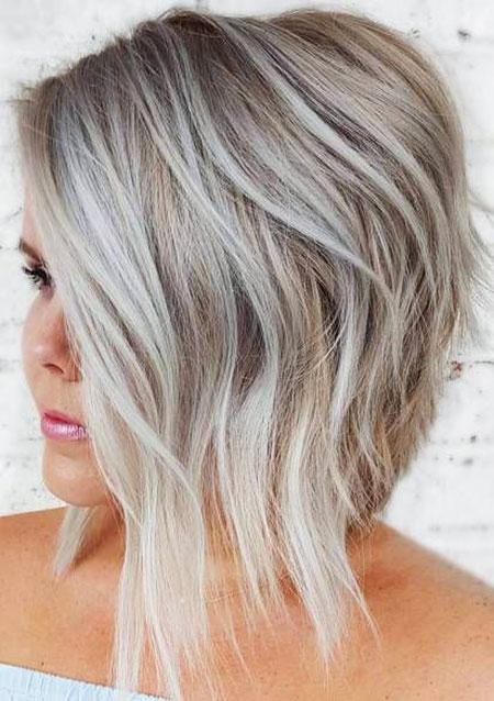 Balayage Hair Bob Blonde
