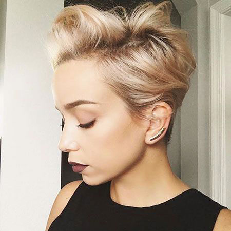Dark Blonde Pixie, Pixie Hair Short Hairtyles