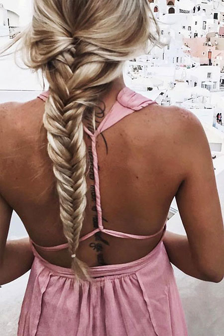 Simple Braid, Hair Hairtyles Long Simple