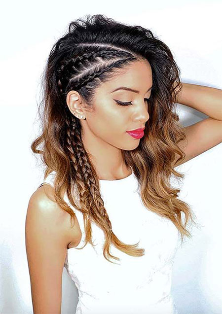 Cool Side Braid, Hair Braided Braid Hairtyles