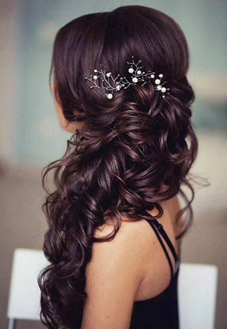 Prom Hair Side Swept
