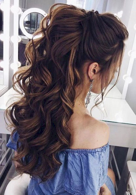 Hair Wedding Long Ideas