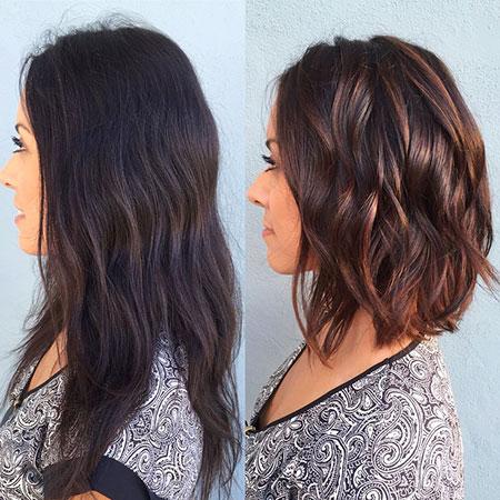 Balayage Hair Ana Lob