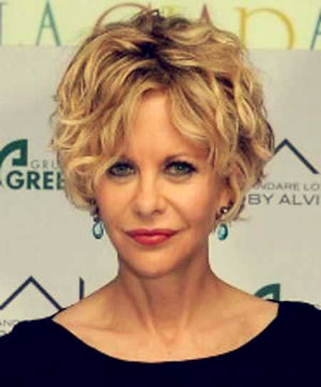 Meg Ryan Curly Short