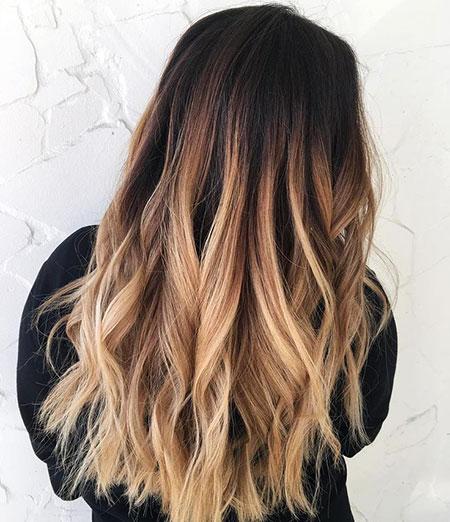 Ombre Hair Dark Blonde