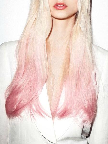 Hair Pink Pastel 45