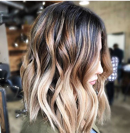 Balayage Hair Ombre Blonde