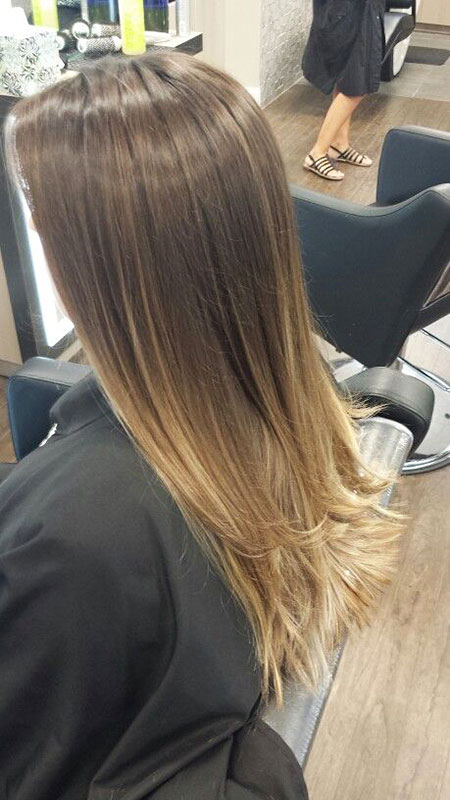 Ombre Hair Balayage Straight