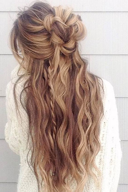 Hair Wedding Color Over