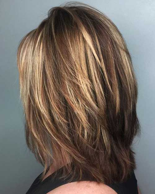 Layered Haircuts for Women-7