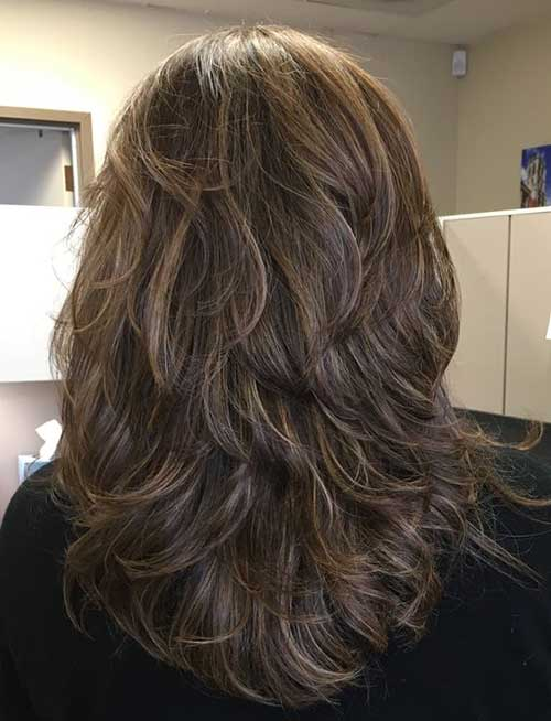 Layered Hair Cuts for Women