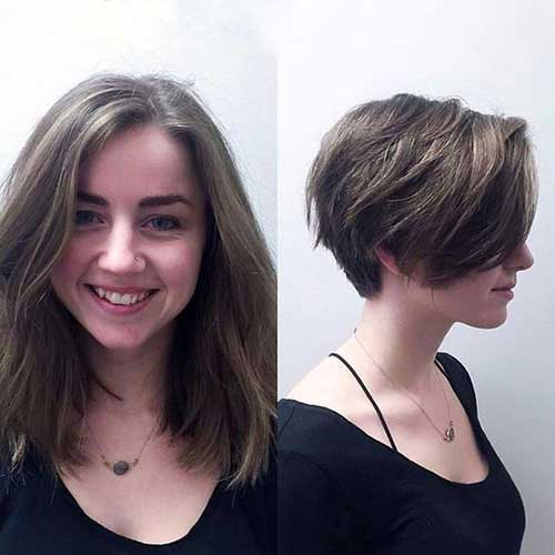 Chic Short Hairstyles and Cuts