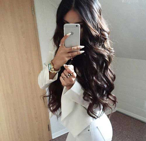 Wavy Long Hair Styles
