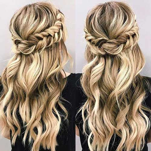 Half Braided Hairstyles-10