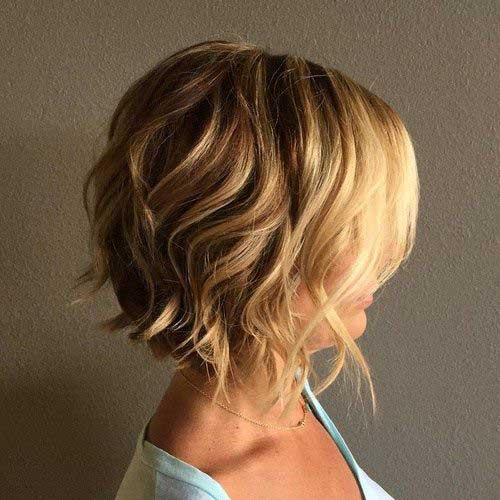 Soft Wavy Bob Hairstyles-11