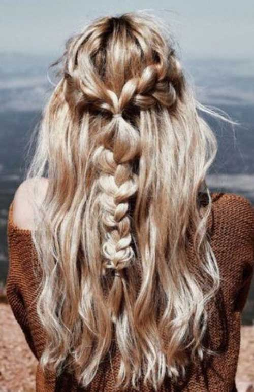 Half Braided Hairstyles-12