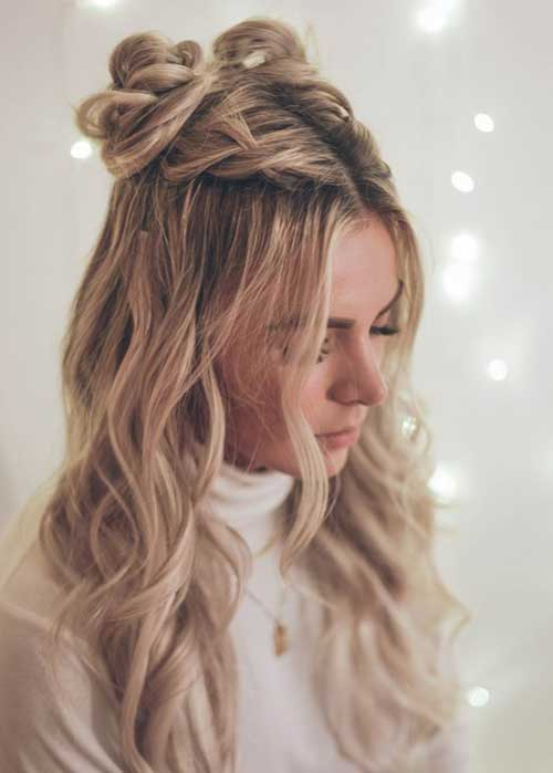 Half Braided Hairstyles-14