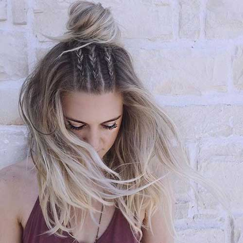 Half Braided Hairstyles-6