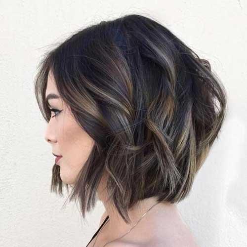 Soft Wavy Bob Hairstyles-6